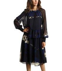 georgette jurk