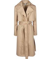 stella mccartney classic belted coat