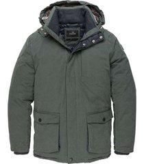 vanguard parka jacket clearlake cruiser urban chic winter jassen groen