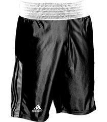pantaloneta de boxeo adidas amateur negro