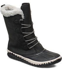 out n about plus tall shoes boots ankle boots ankle boots flat heel svart sorel