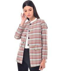 chaqueta para mujer en paño multicolor color-multicolor-talla-xl