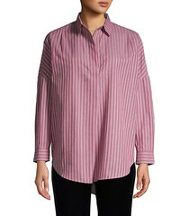 bega striped cotton shirt