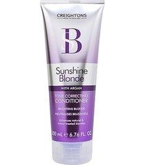 condicionador creightons sunshine blonde tone correcting 200ml