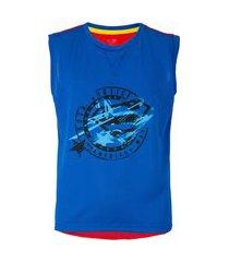 camiseta regata liga da justiça super-homem - infantil