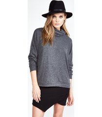 josh turtleneck pullover - xs black