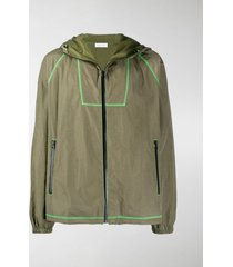 john elliott zipped hooded jacket