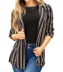 blazer jessica multicolor  para mujer croydon