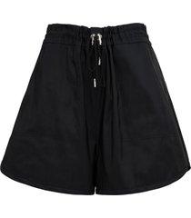 alexander mcqueen exploded black bermuda shorts