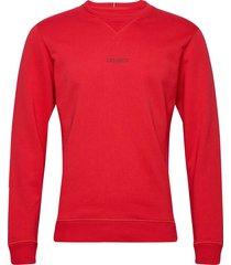lens sweatshirt sweat-shirt tröja röd les deux