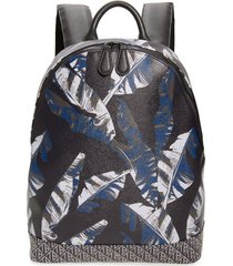 men's ted baker london faux leather print backpack -