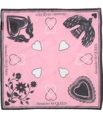 alexander mcqueen mystic scarf