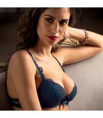 lise charmel lingerie soir de venise push up bh blauw aca8503