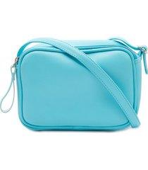 bolso pequeño agua color azul, talla uni
