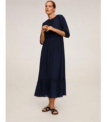 soepelvallende lange jurk
