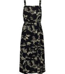 mako strap dress knälång klänning svart just female