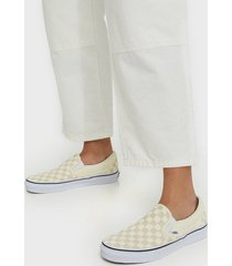 vans ua classic slip-on checkerboard slip-on vit