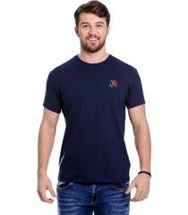 camiseta javali bord marinho - kanui