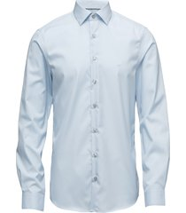 poplin easy iron fit skjorta business blå calvin klein