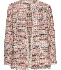 norlycr jacket blazer colbert roze cream