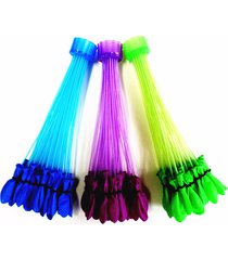 3 bunch of magic balloons - fill & ties a bunch of water balloons in 60 seconds