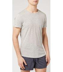 orlebar brown men's crewneck t-shirt - mid grey melange - xl