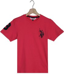 camiseta fucsia us polo assn
