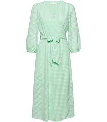 2nd harlow knälång klänning grön 2ndday