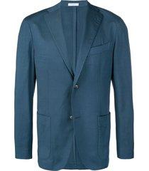 boglioli formal blazer - blue