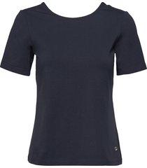 laura tee t-shirts & tops short-sleeved blå morris lady
