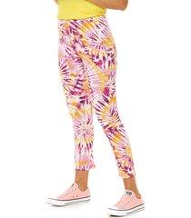 pantalón lila nylon