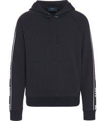 kiton sweater w/hood cotton