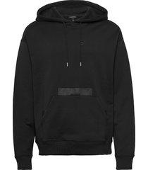 gordon-jljl sweat hoodie trui zwart j. lindeberg