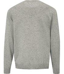 trui met ronde hals van louis sayn grijs