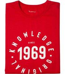 t-shirt van bio-katoen, rood l
