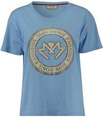 t-shirt leah blauw