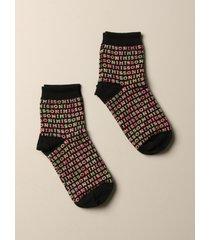 missoni socks missoni wool blend socks with jacquard logo