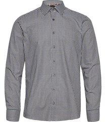 8765 - state n 2 trim skjorta business multi/mönstrad sand