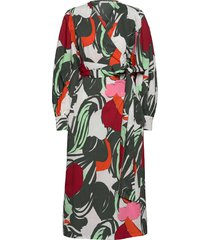 aalloilla iso mehu dress maxiklänning festklänning multi/mönstrad marimekko