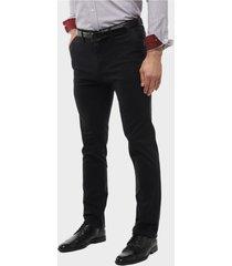 pantalón chino spandex negro arrow