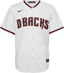 arizona diamondbacks nike official replica home jersey t-shirts short-sleeved vit nike fan gear