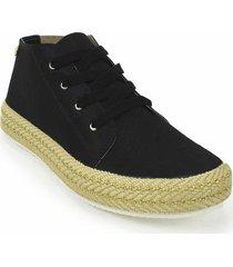 zapato casual yute dama 692205negro
