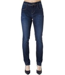 calça jeans reta calvin klein