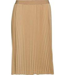 jrsaga below knee skirt - k knälång kjol beige junarose