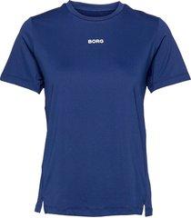 regular tee w borg w borg t-shirts & tops short-sleeved blå björn borg