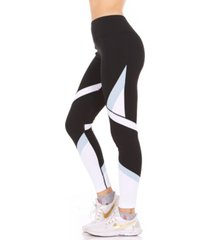 therapy color blocked high-rise leggings