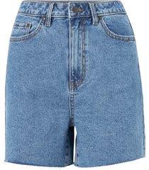 jeansshorts objpenny hw denim shorts