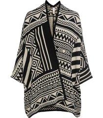 poncho in maglia (beige) - bodyflirt boutique