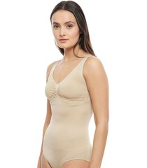 body lady genny seamless control nude - calce ajustado