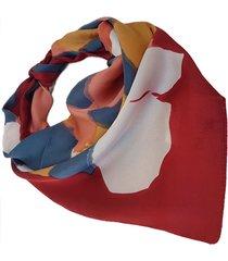 pañuelo bordó nuevas historias manchas colores ba1189-18